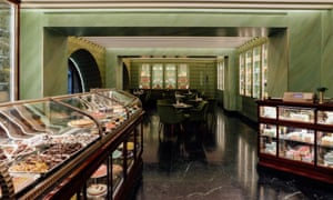 Prada's Marchesi 1824 bakery in Milan, a branch of which will be opening in London next month.