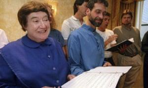 Sister Frances Carr on 13 September 1995.
