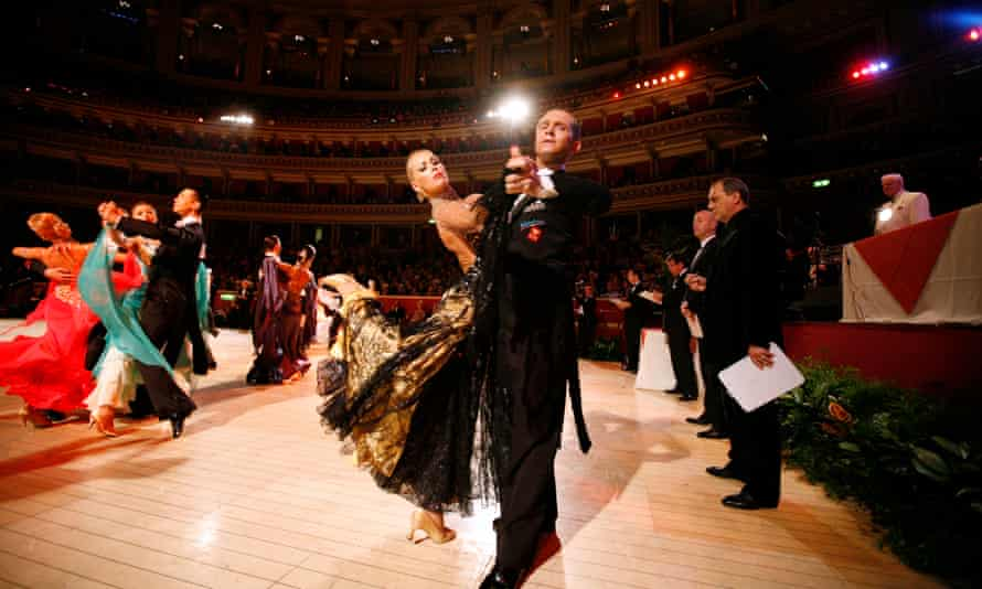 Waltzing at the Albert Hall was once risque.