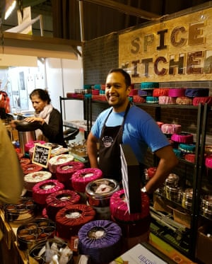 Spice Kitchen stall at Liverpool Winter Arts Market