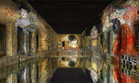 Les Bassins de Lumières arts centre, in Bordeaux.