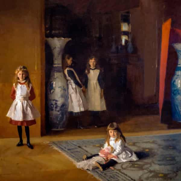 """'Gazing at Sargent's portrait, she longs to """"write something as good"""" … a detail from Daughters of Edward Darley Boit by John Singer Sargent (1882)."""