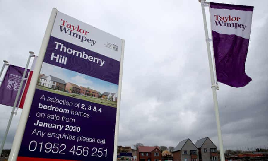 A Taylor Wimpey housing development