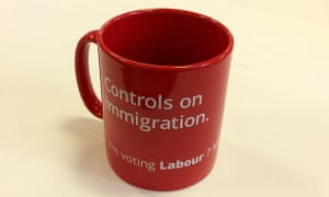 Ed Miliband's immigration mug.