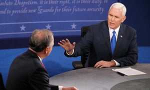 Mike Pence responds to Tim Kaine.