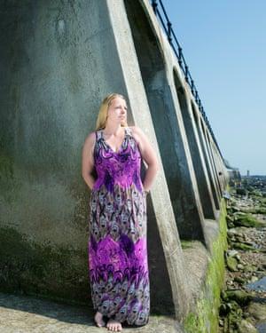 Folkestone Labour councillor Michelle Dorrell photographed in Dover.