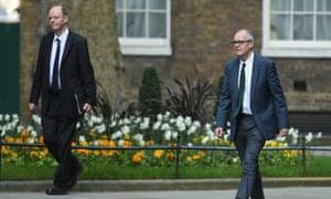 Prof Chris Whitty and Sir Patrick Vallance