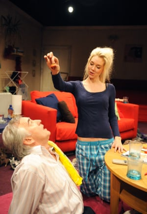 Denis Lawson and Vanessa Kirby in The Acid Test, Royal Court, London, 2011