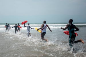 'Most bathing areas record high levels of drowning, especially during holiday periods,' says Felix Uzor, founding member of GNARU