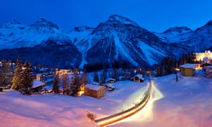 Arosa in the evening