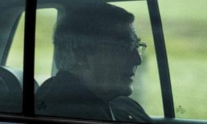 George Pell leaves HM Prison Barwon in Geelong