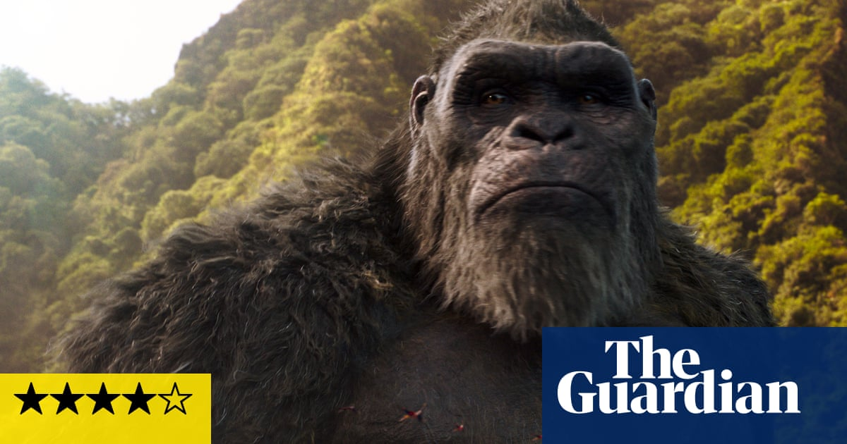 Godzilla vs Kong review – duelling monsters make for one hell of a show