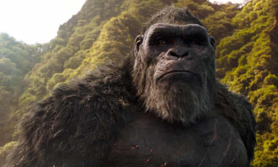 A still from Godzilla vs Kong.