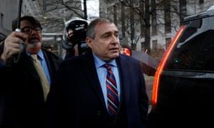 Ukrainian-American businessman Lev Parnas, who acted as an intermediary between Giuliani and Ukrainian officials.