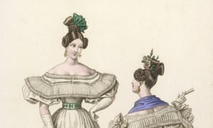 Old school … a fashion image from the 1830s.