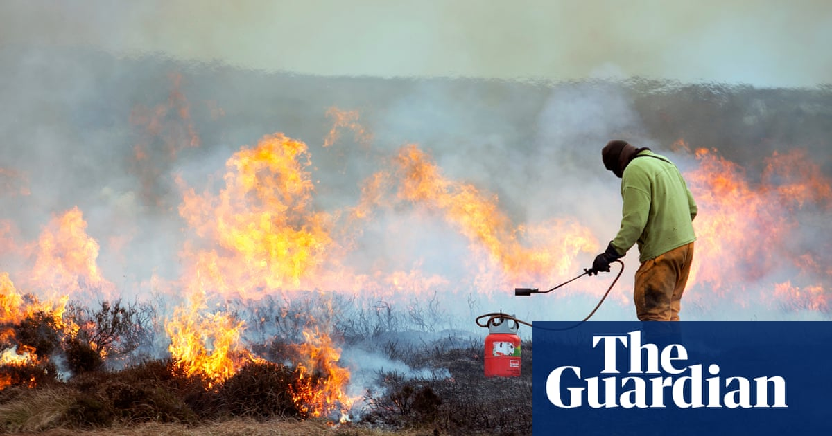 More than 100 moorland fires reported in England in past four days