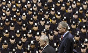 Bill Bratton and Bill de Blasio