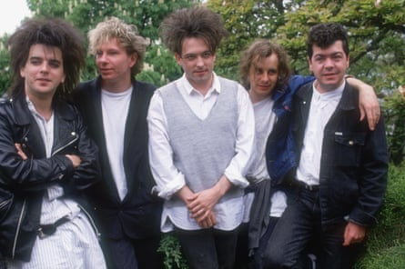 The Cure in 1987.