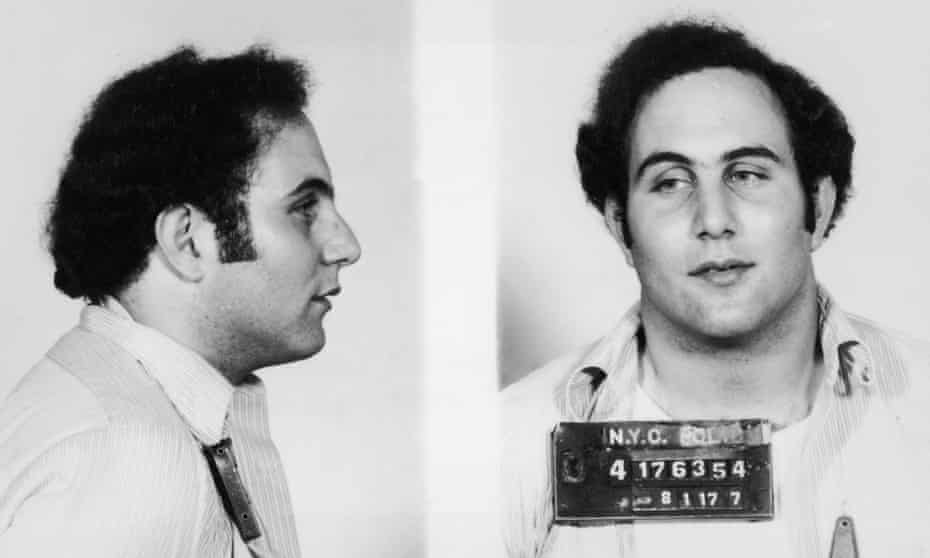 Convicted New York City serial killer David Berkowitz, known as the 'Son of Sam'.