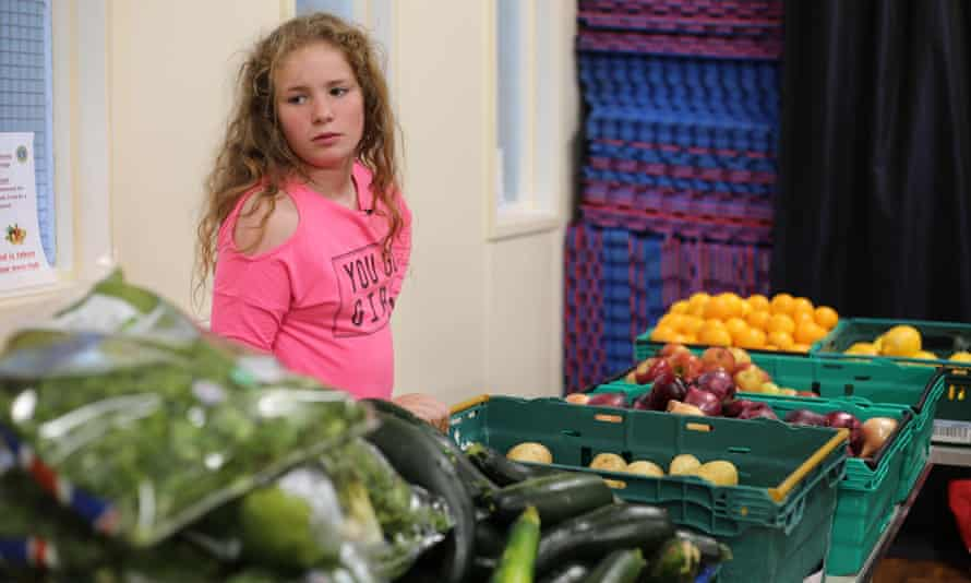 Rose in Channel 4 Dispatches' documentary Growing Up Poor: Britain's Breadline Kids