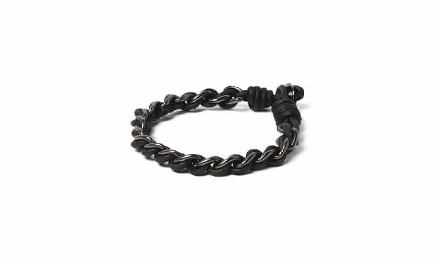 Black bracelet, £8, riverisland.com