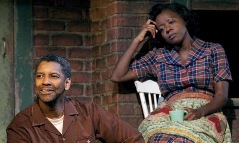 Denzel Washington and Viola Davis in the big-screen adaptation of Fences.