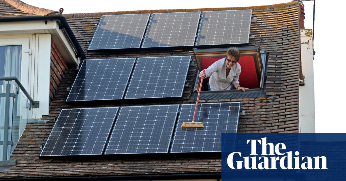 Solar households expected to give away power to energy firms