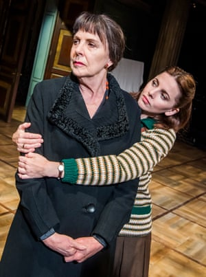 Penelope Wilton and Ophelia Lovibond in The Bay at Nice by David Hare at the Menier Chocolate Factory.
