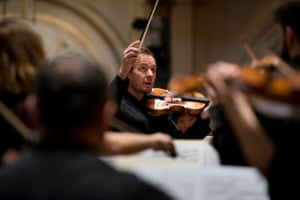 Violinist Richard Tognetti and the ACO.