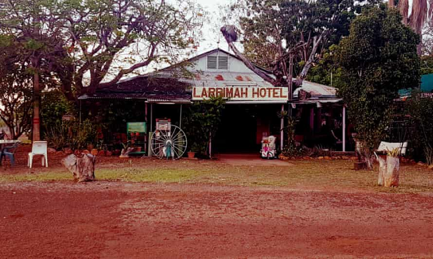 The Larrimah Pink Panther Hotel.