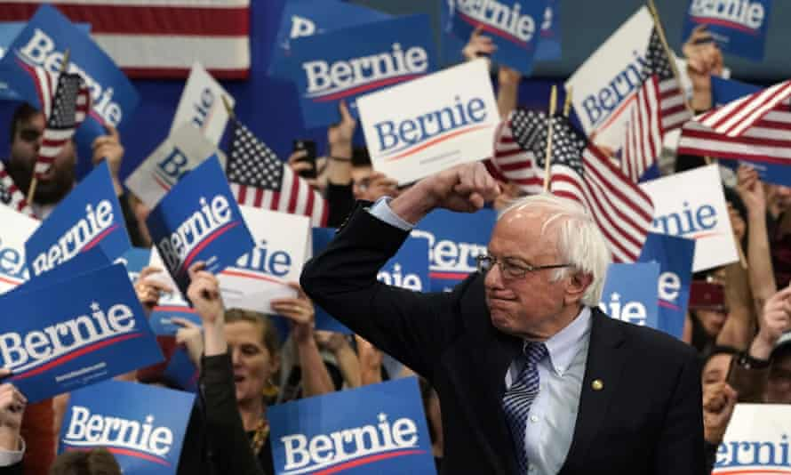 Bernie Sanders won New Hampshire's crucial Democratic primary, beating moderate rivals Pete Buttigieg and Amy Klobuchar.