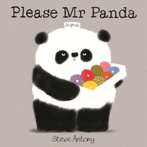 Please Mr Panda illustrated and written by Steve Anthony (Hodder Children's Books)