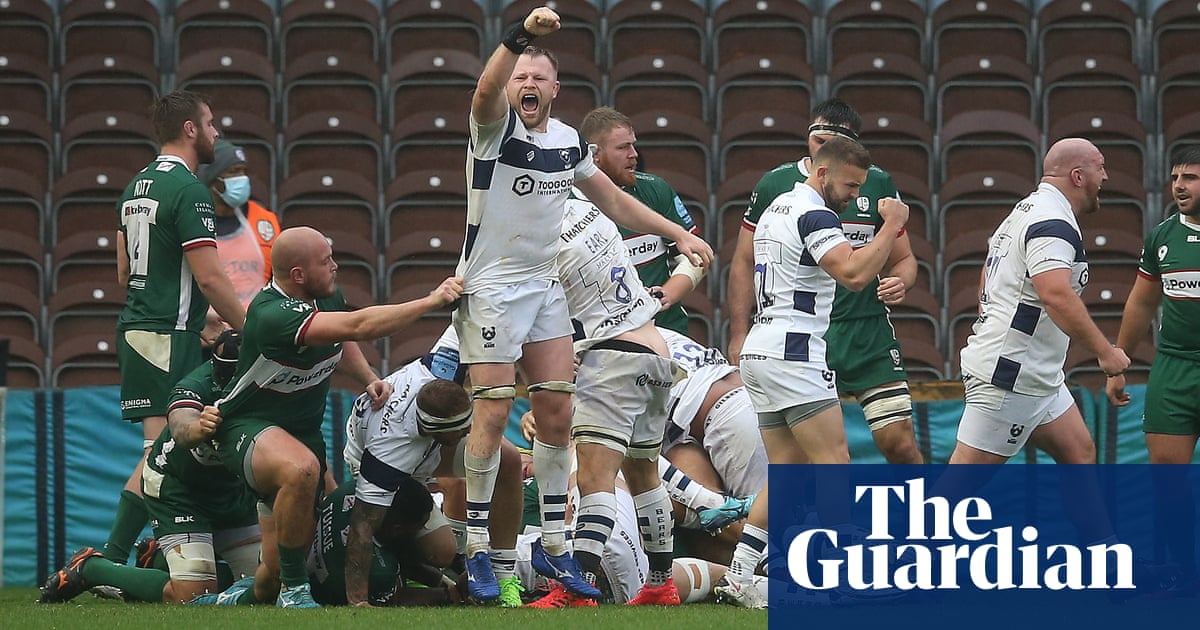 Delighted Bristol into play-offs with messy victory over London Irish