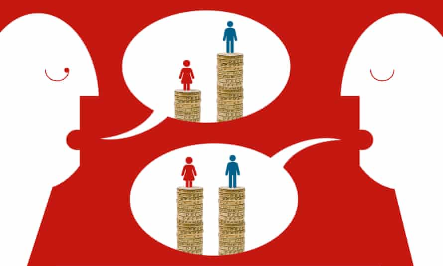 Pay divisions … women still earn less than men. Why?