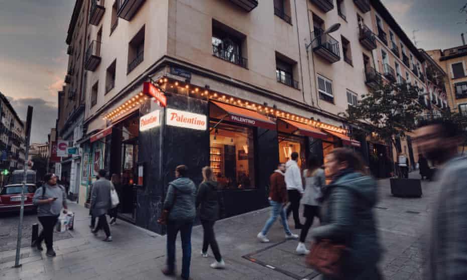 Madrid's El Palentino, a classic bar de comidas that has recently been remodelled.