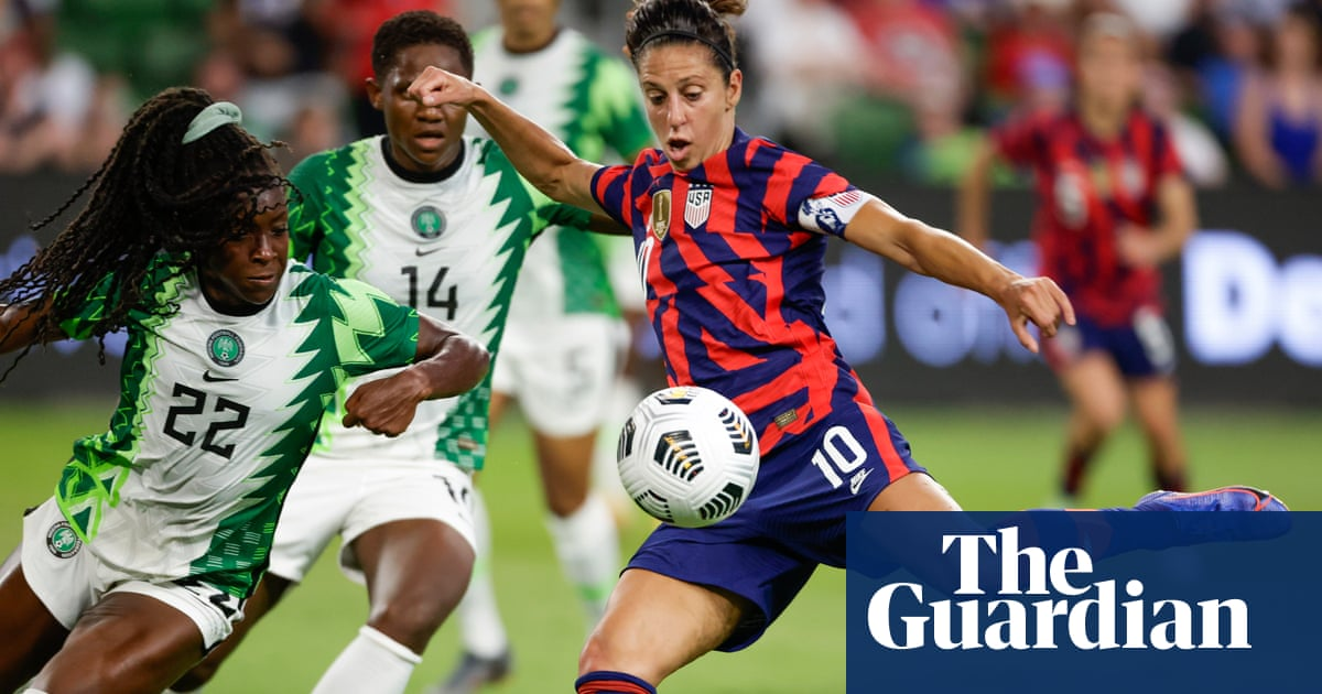 Carli Lloyd, Megan Rapinoe headline US women's soccer Olympic team roster