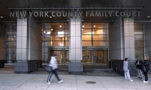 The exterior view of the New York County Family Courthouse