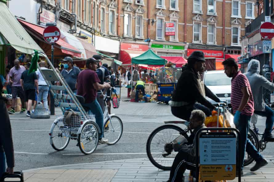 Electric Avenue in Brixton in May 2020