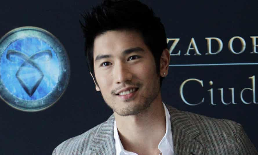Godfrey Gao at the premiere for The Mortal Instruments: City of Bones.