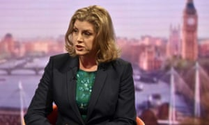 Penny Mordaunt on BBC1's The Andrew Marr Show.