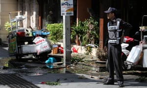 The bombings follow a series of coordinated blasts across Southern Thailand including in Hua Hin and Phuket.