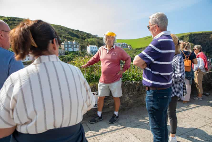 Dave Morgan, a local Doc Martin tour guide and frequent extra in the TV series.