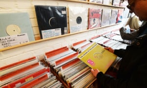 Love Vinyl record shop in Hoxton, east London