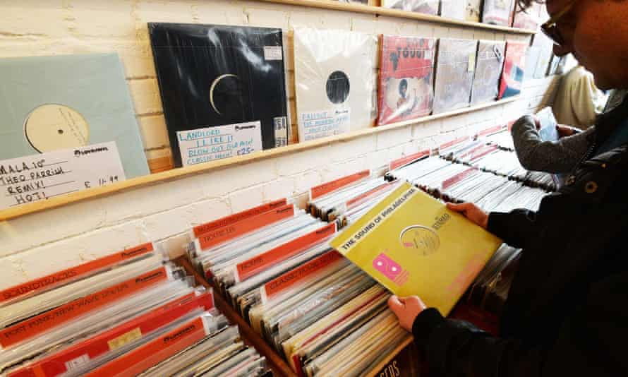 Love Vinyl record shop in Hoxton, east London