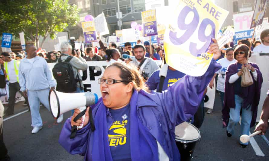 'People hear union and they think Jimmy Hoffa,' said Barbara Torres, adding that for her being part of the union is about education and fighting for better contracts.