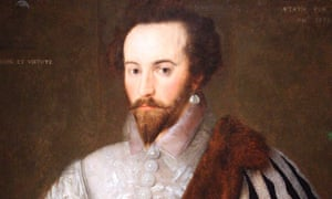 Sir Walter Raleigh's portrait at the National Portrait Gallery.