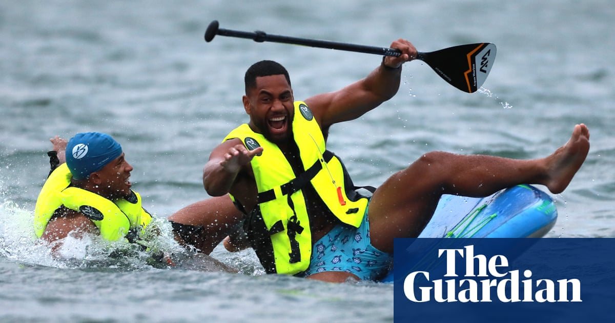 Paddleboarding and luxury: Miyazaki is Jones's special place for final preparation | Gerard Meagher