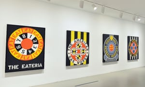 Work from the Whitney retrospective Robert Indiana: Beyond Love in 2013.
