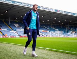 Leeds United captain Liam Cooper.