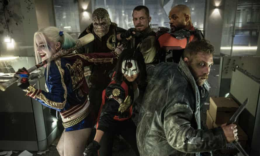 DC's party-pack of supervillains in Suicide Squad.